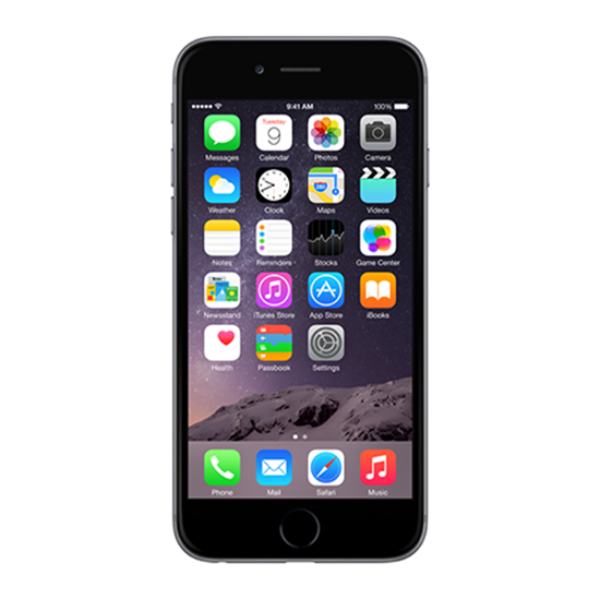 iPhone 6 16GB Space Gray locked