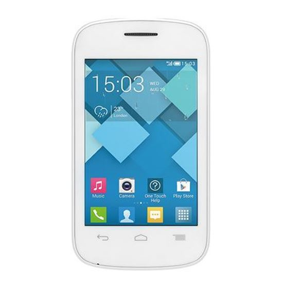 Alcatel Pixi 2 Max White