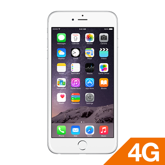 iPhone 6 plus 16GB Silver locked