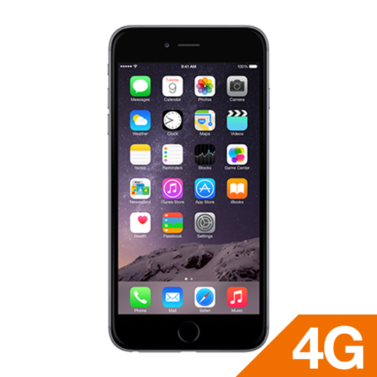 iPhone 6 plus 16GB Space Gray locked