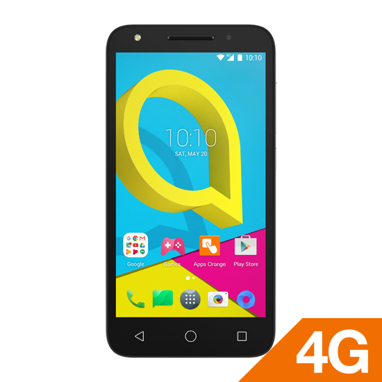 Alcatel U5 Black Locked + استرد 500 جنية