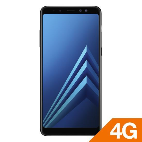 Samsung Galaxy A8 Plus Black + Powerbank 5200M