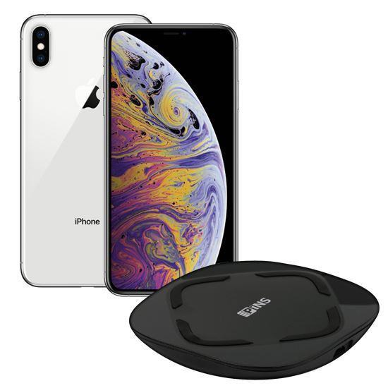 iPhone XS Max 512GB Silver Locked