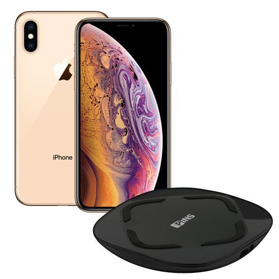iPhone XS 512GB Gold Unlocked + Free Wireless Charger