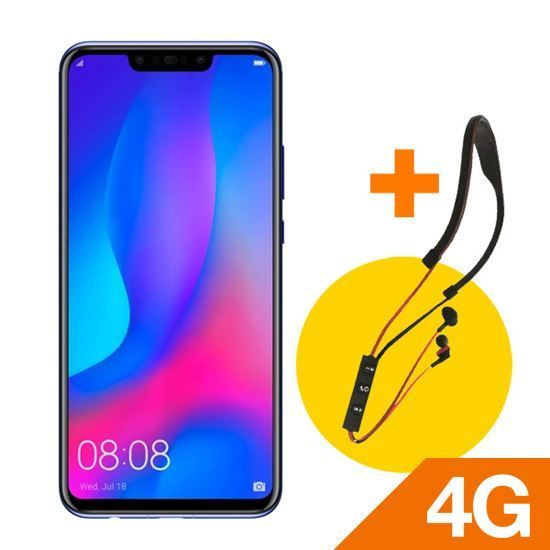 HUAWEI NOVA 3i BLACK + Olkya Vocalist Earphone BTE