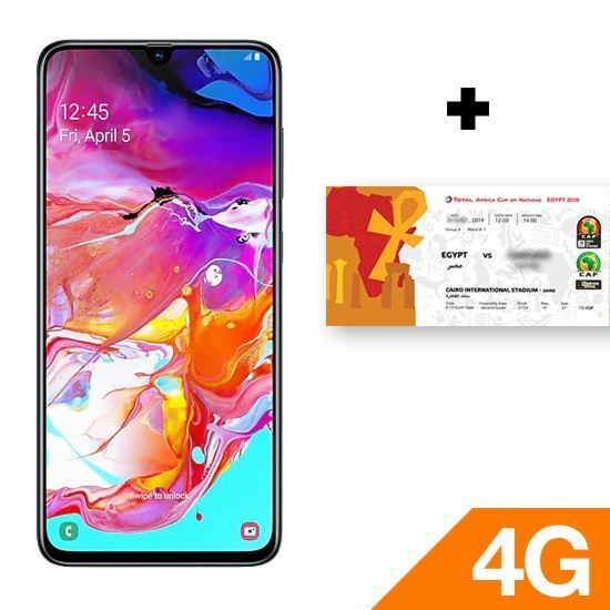 Samsung Galaxy A70 - Black + Gift