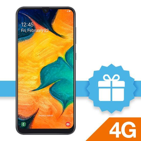 Samsung Galaxy A30- BLACK