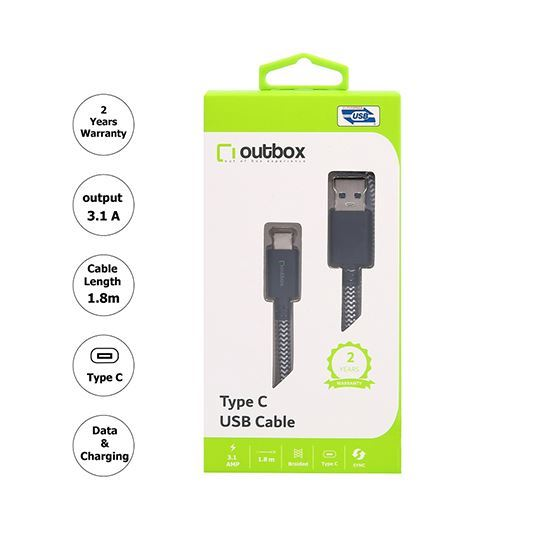 Outbox Type-C Cable 1.8M