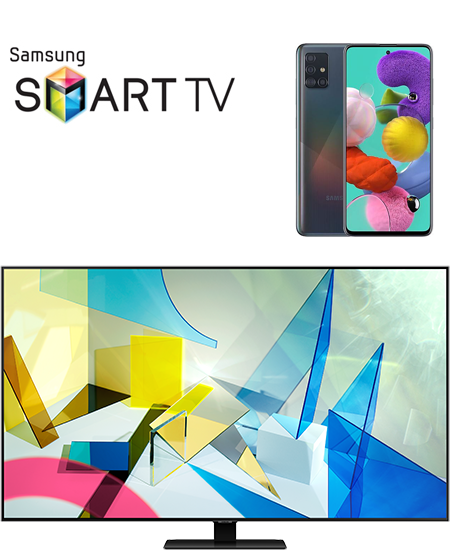 Samsung Smart TV 65Q80T + Samsung Galaxy A51